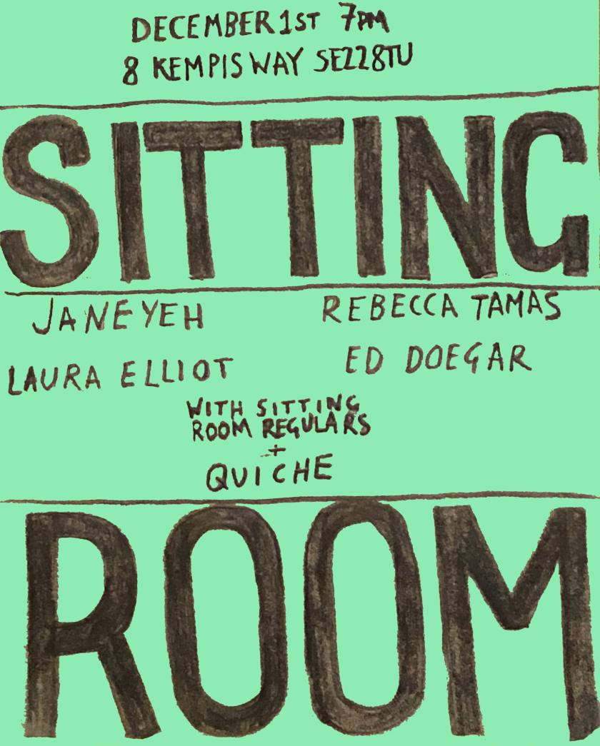 sitting room poster